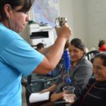 Giving water filter