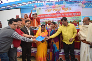 The Bogra Horijon community in Bangladesh celebrated graduation from FH's programs in 2018