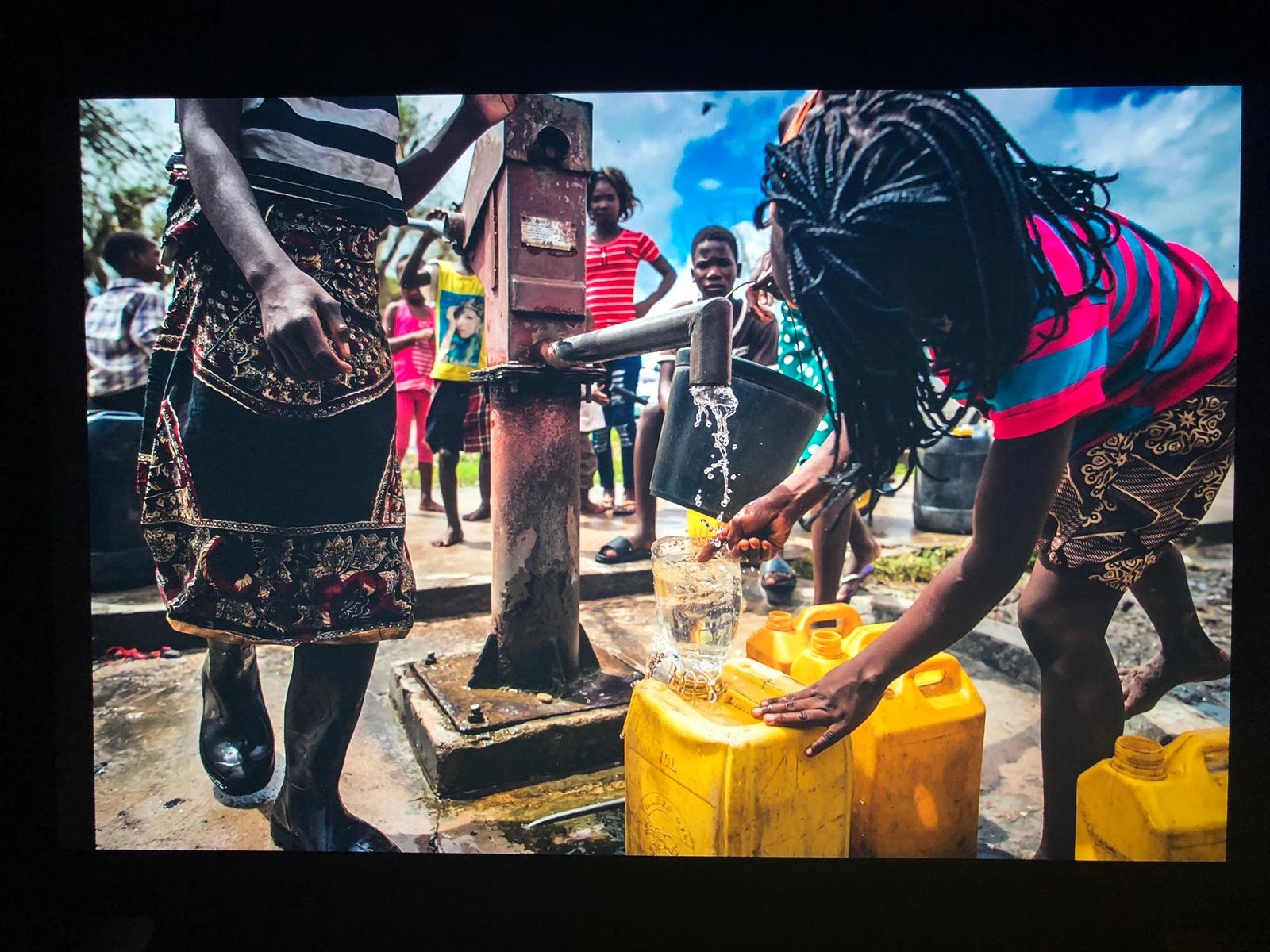 Idai survivors find water