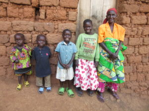 A Group of Children Smiling in Burundi