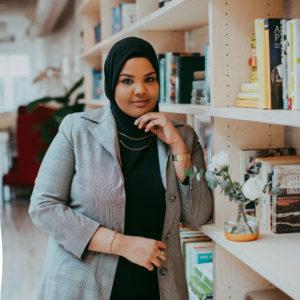 Beauty vlogger and Sudanese influencer Shahd Khidir.