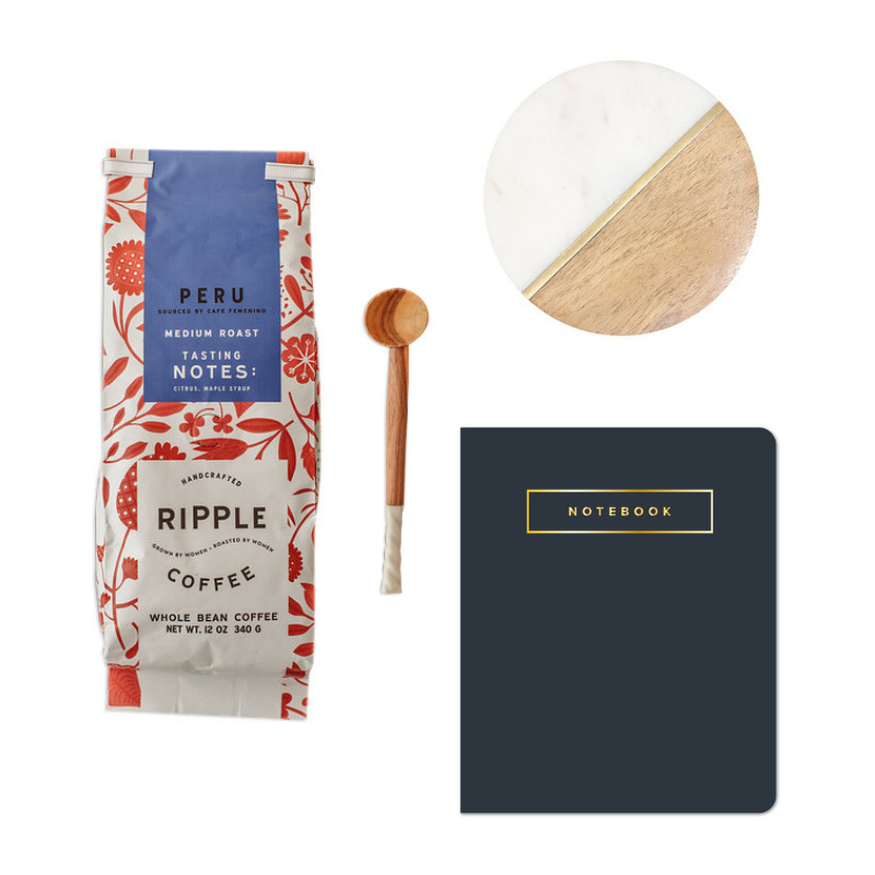 The Coffee Lover gift set by Marie Mae
