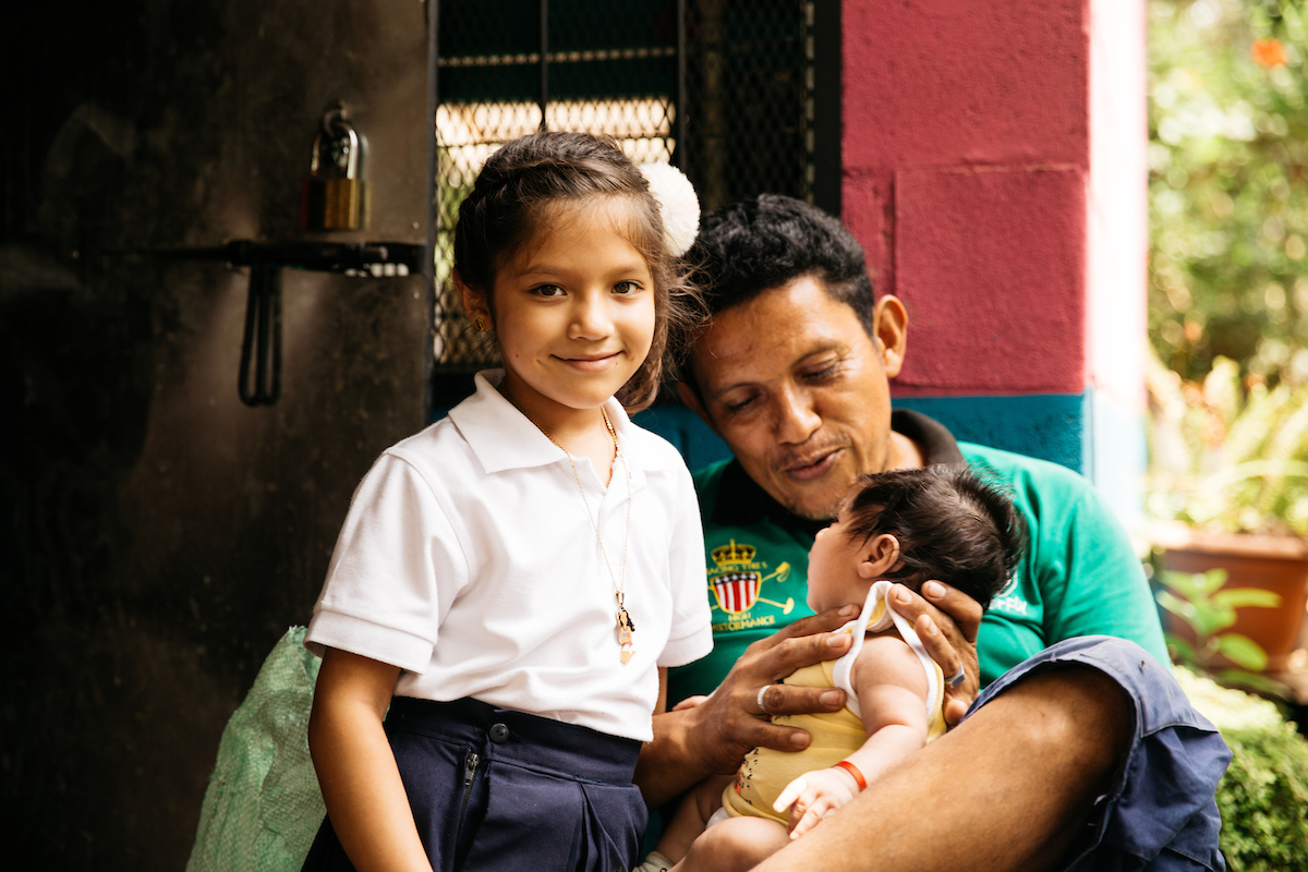 Albas husband and children are now thriving due to her income-generation passion project!
