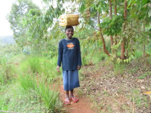 Anitha Is a 12-Year-Old Girl in Burundi