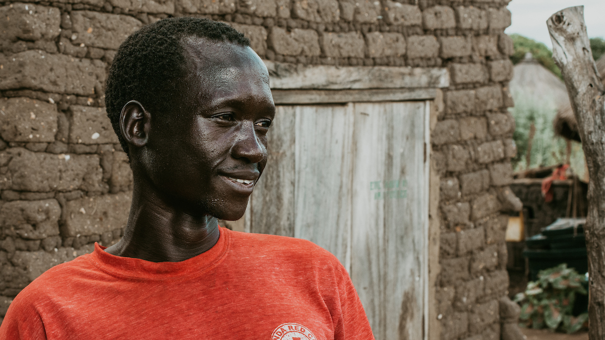 Portrait of Peter in Uganda