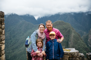 Sponsorship family visiting Peru with Food for the Hungry