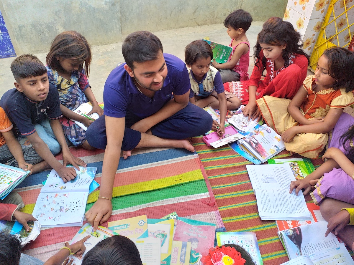 community graduation and sponsored children in Bogra Horijon