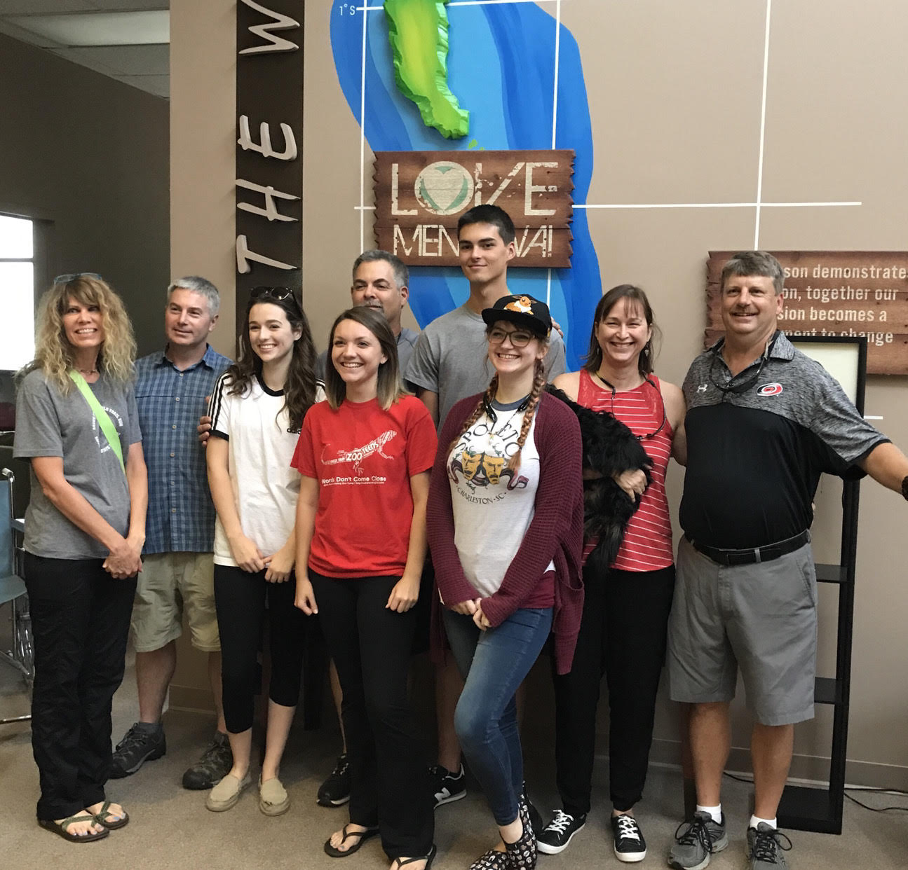 Quest Fellowship church members get ready to visit their FH sponsored community in Indonesia.