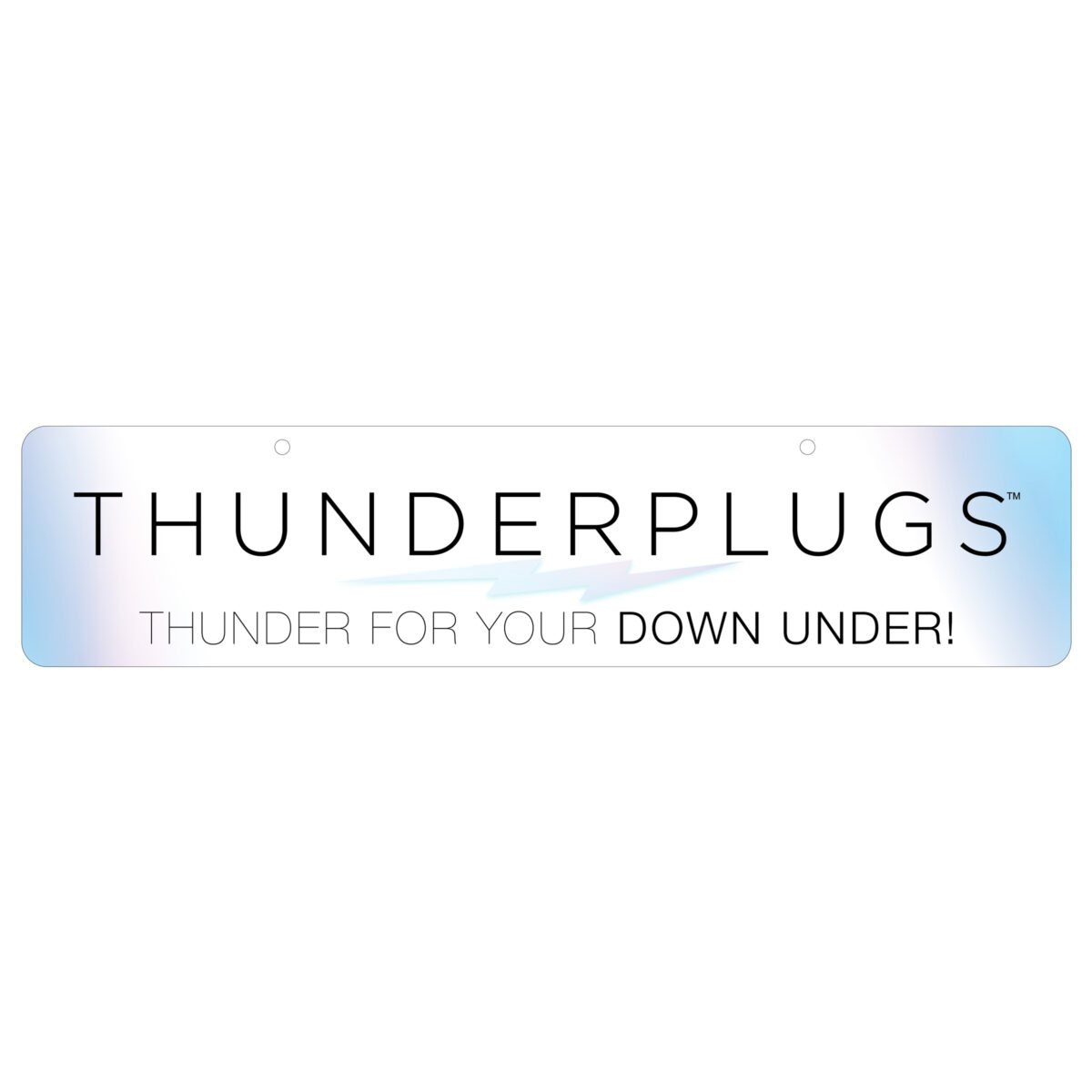 Thunderplugs Display Sign - a010b2ad