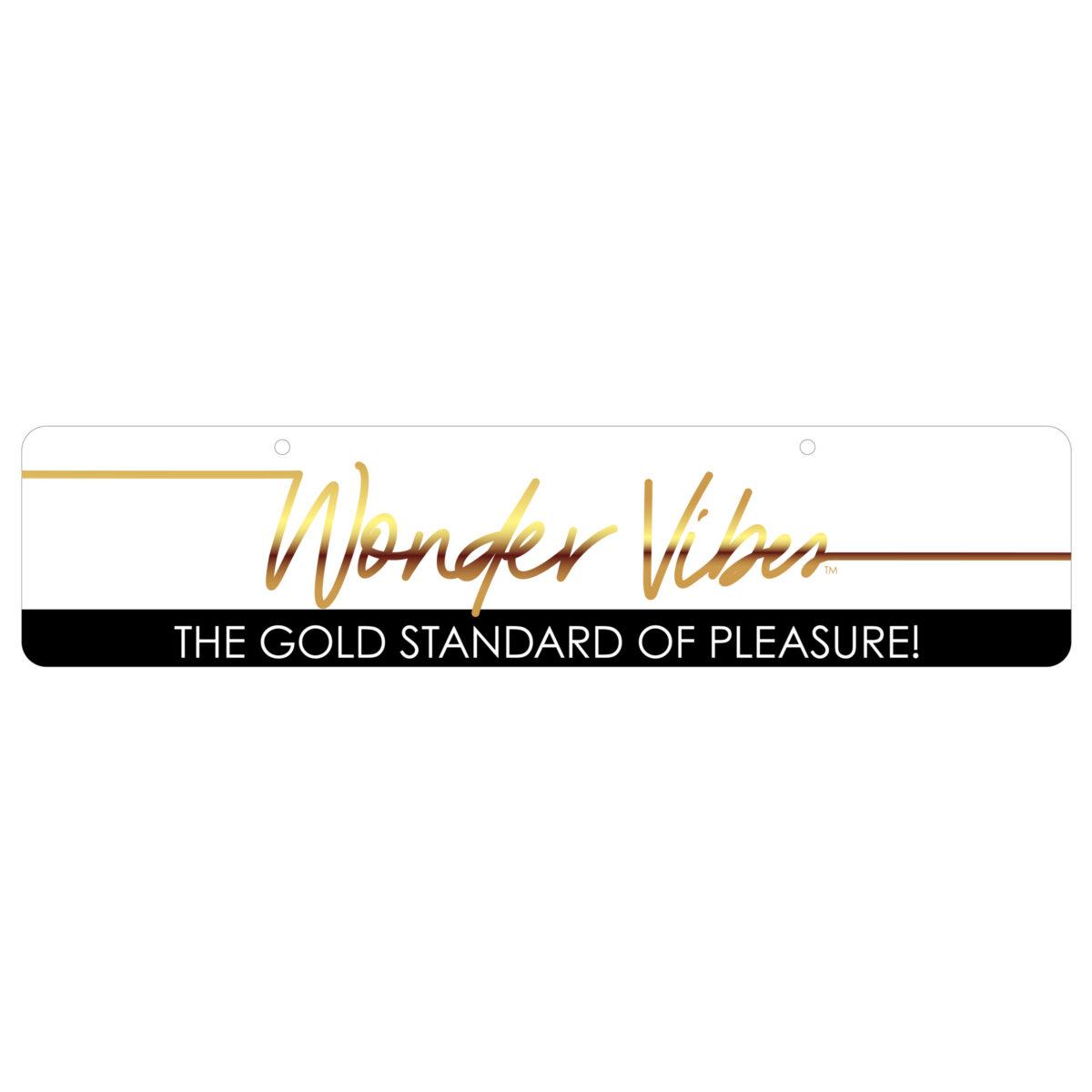 Wonder Vibes Display Sign - 86128cd5