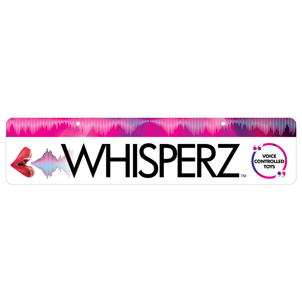 Whisperz Display Sign - 951dd26c