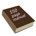 Simplicity in a 550 page manual?