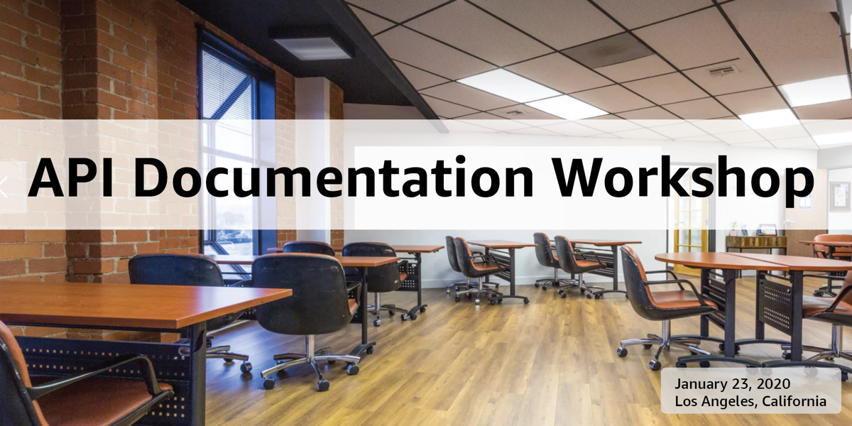 API Documentation Workshop - San Francisco Nov 19