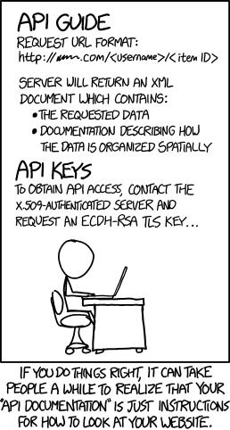 websites as APIs