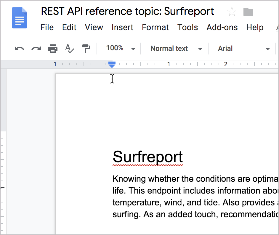Make a copy of this Google doc and make comments on it.