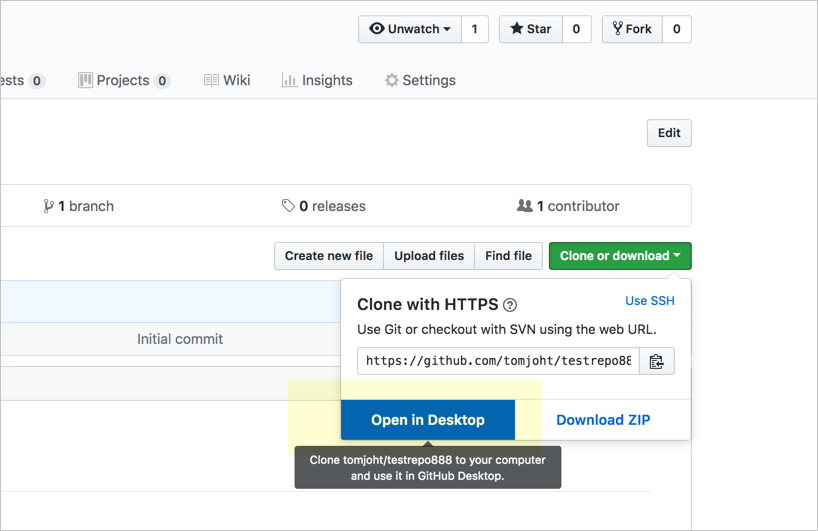 Activity: Use the GitHub Desktop client | Documenting APIs