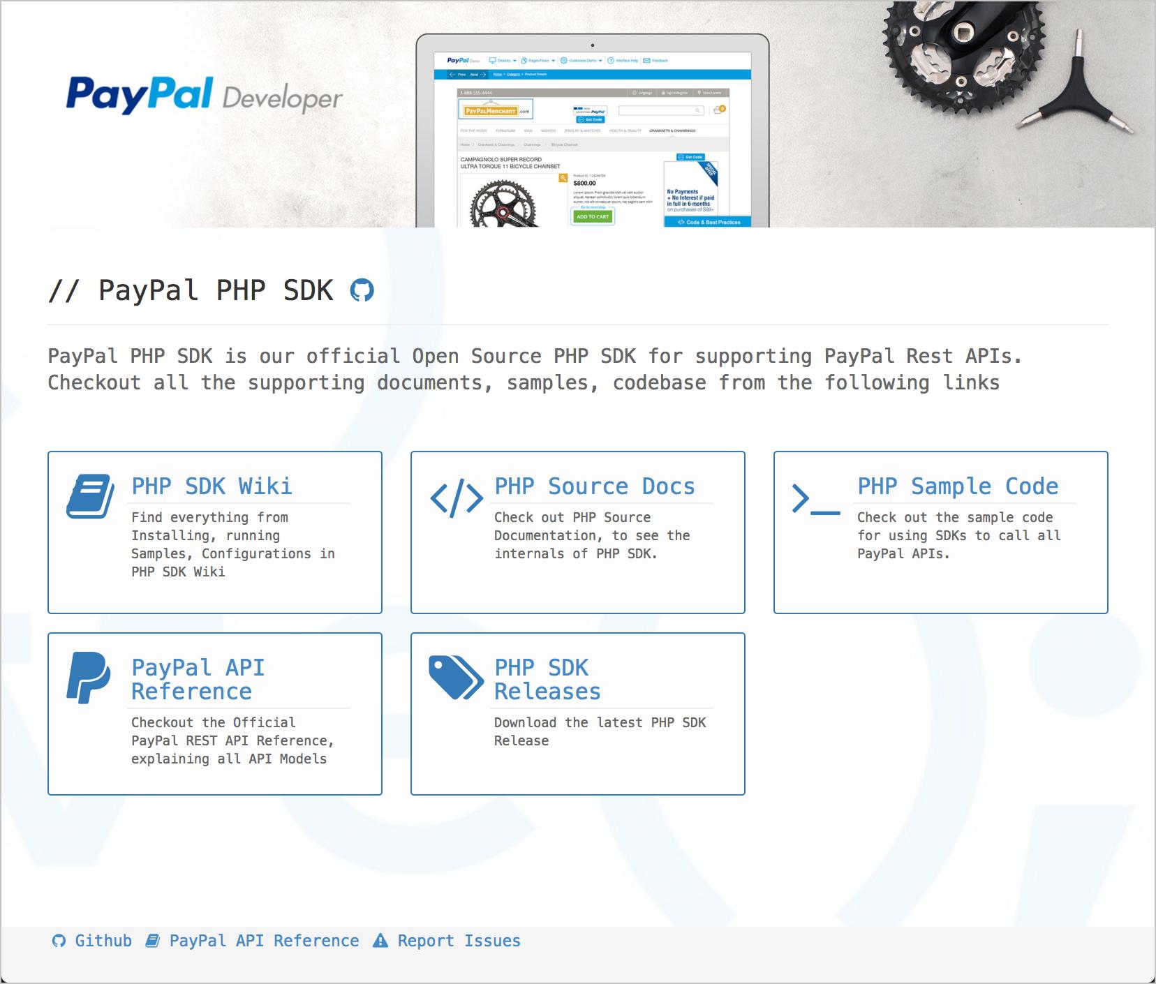 Paypal PHP SDK