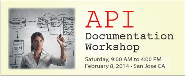 API documentation workshop San Jose
