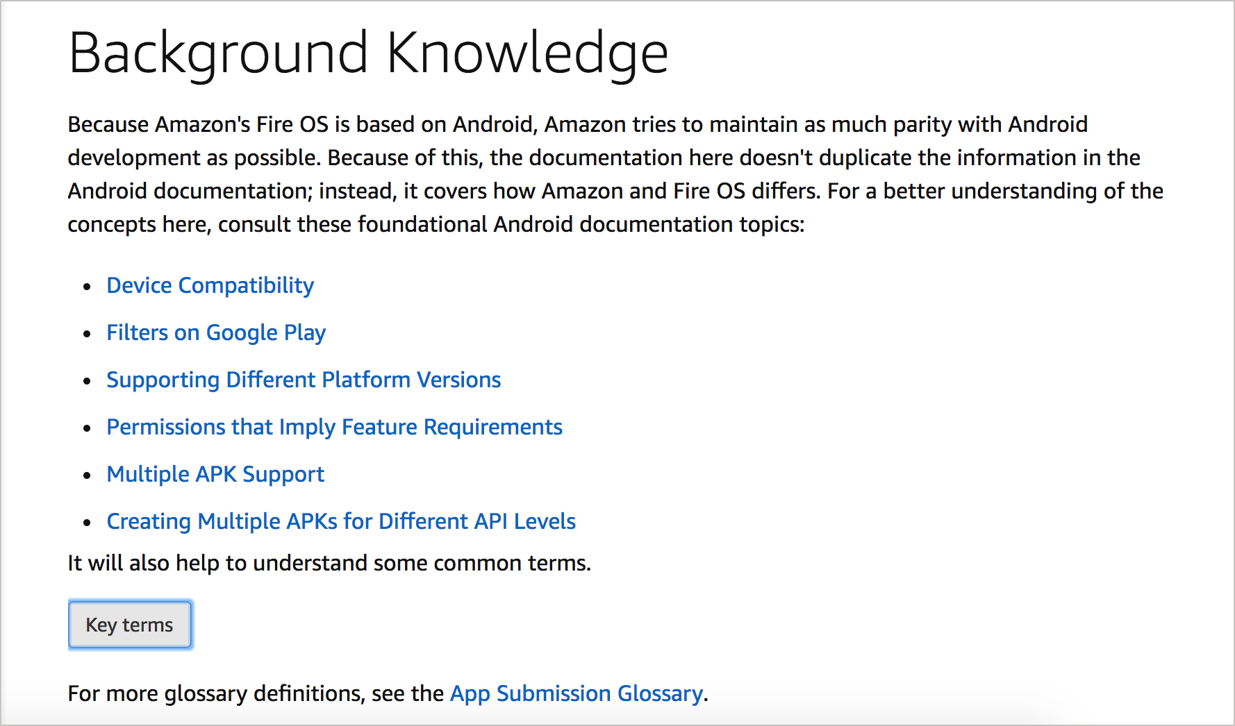 Helping users ramp up on background knowledge