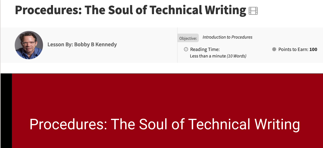 Technical writing course: Become a technical writer