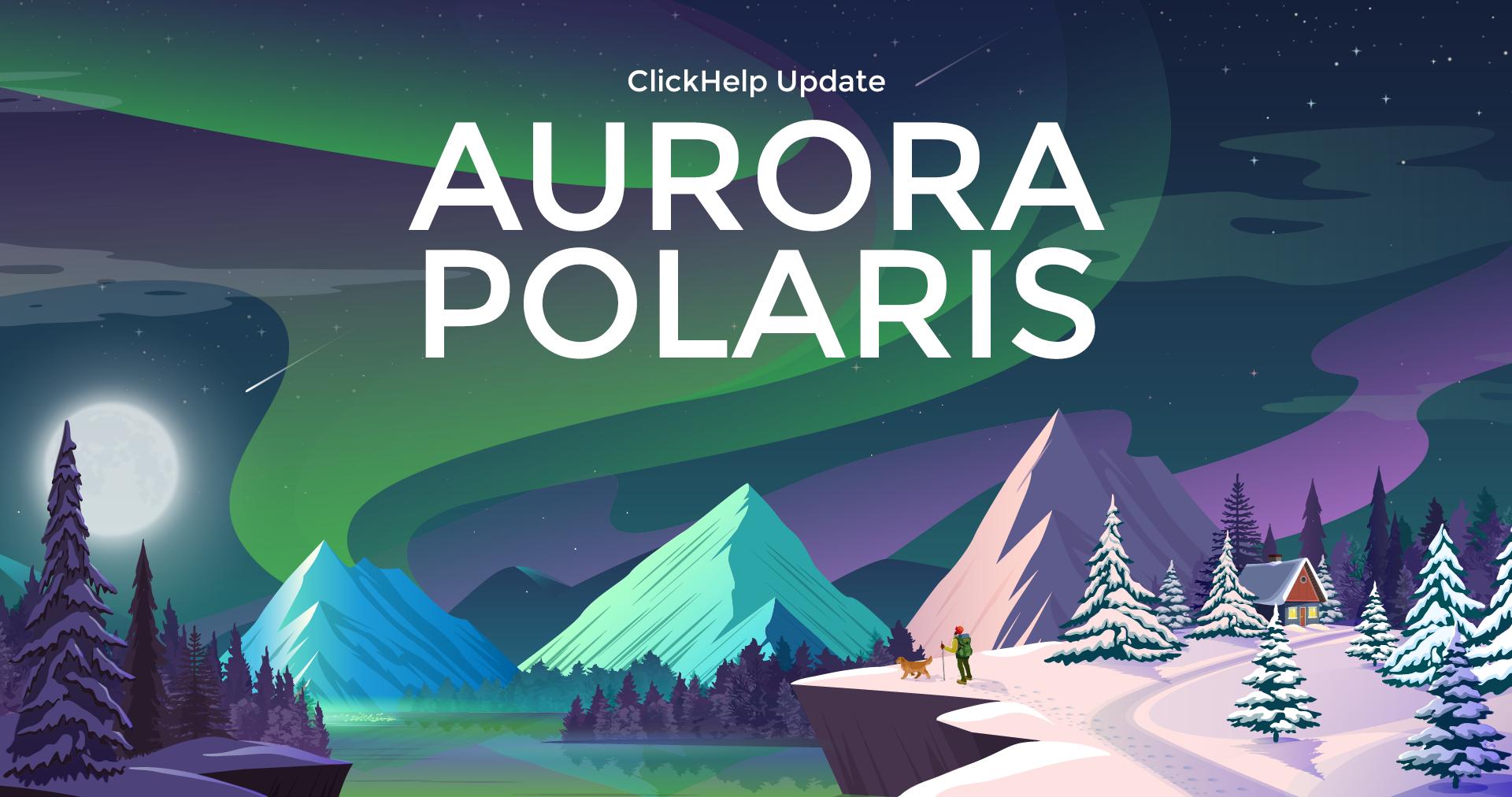 Latest release -- Aurora Polaris