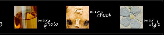 Dooce's Daily Chuck