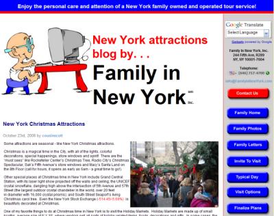 Family in New York blog