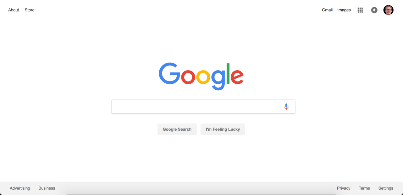 Google's home page looks simple on the surface, but the code fills 73 pages