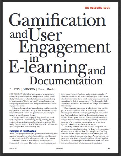 STC Intercom Gamification article