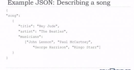 json response