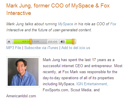 Mark Jung podcast