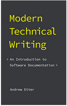 Modern Technical Writing, by Andrew Etter