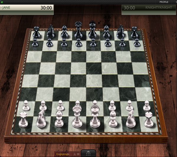 ChessJam's 3D chess board and pieces