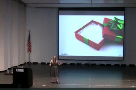 Karen McGrane's presenation at IA Summit.