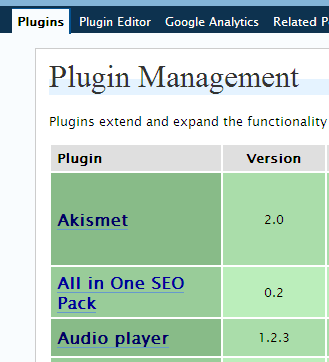 Plugin Management
