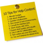 10 Tips for Help Content
