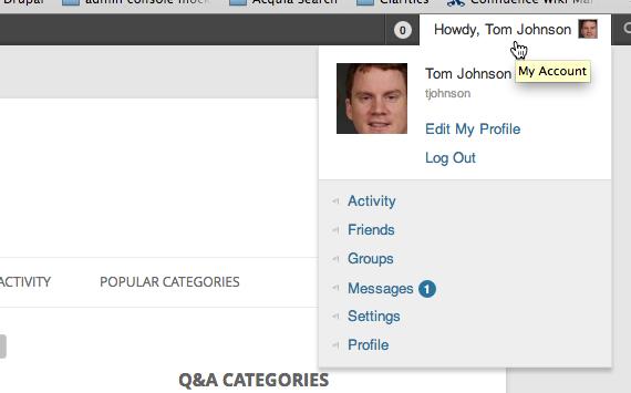 Profile options