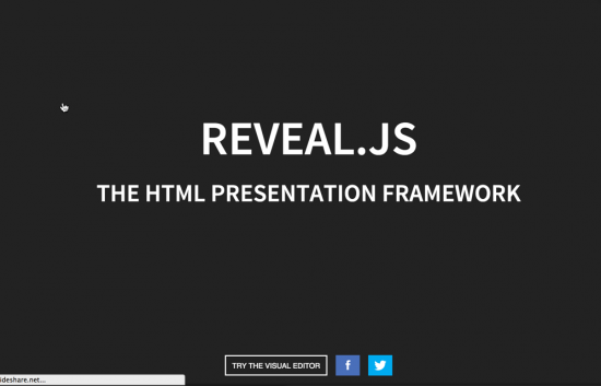 Reveal JS tutorial