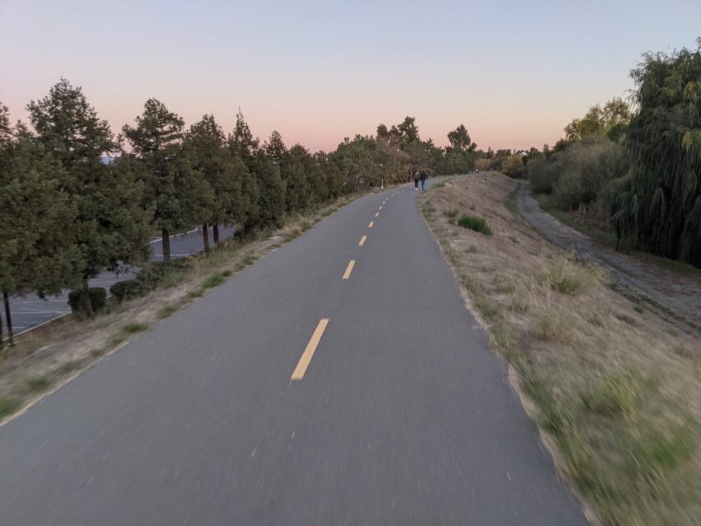 Santa Clara Loop - San Tomas Aquino trail