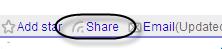 Shared Item in Google Reader