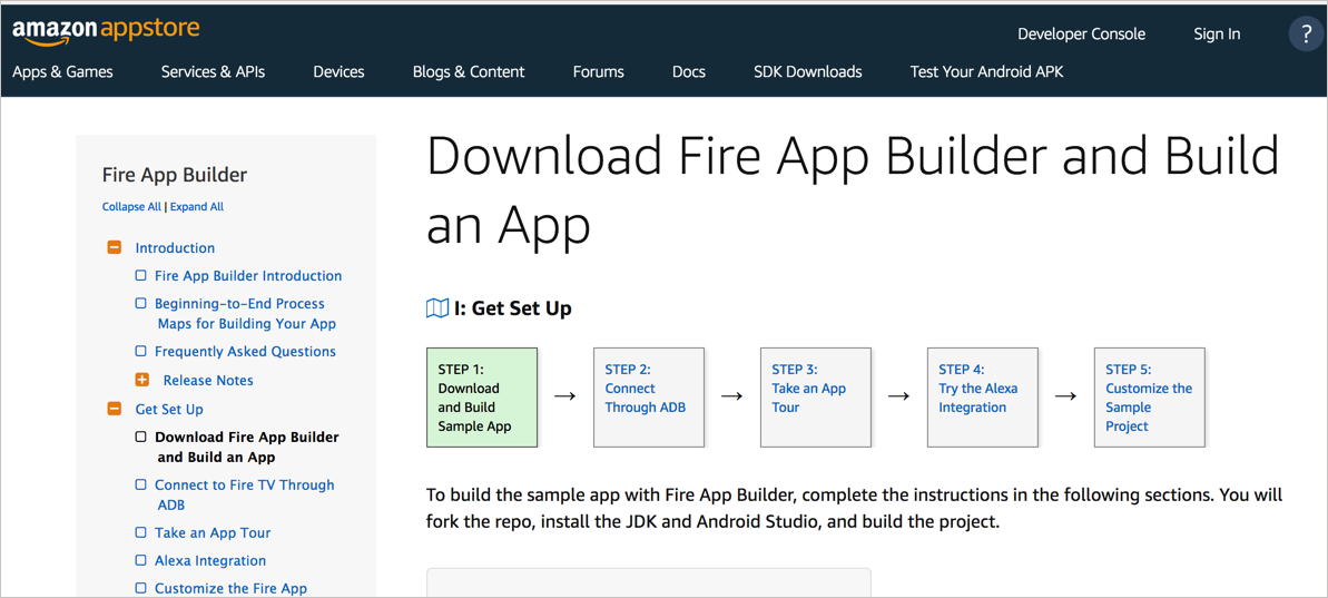 Fire App Builder map