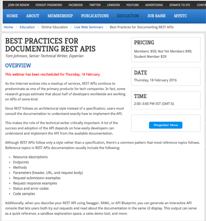 Best Practices for Documenting REST APIs