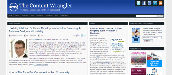 The Content Wrangler on WordPress