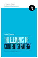 The Elements of Content Strategy, by Erin Kissane