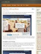 The New LDS.org Menu