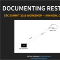 Slides for Documenting REST APIs Workshop — 2016 STC Summit Anaheim, Calif.