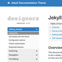 Version 3.0 of my Documentation theme for Jekyll released