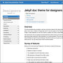 Version 4.0 released for the Jekyll Documentation Theme