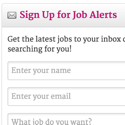An easy way to support my site: Sign up for technical writing job alerts
