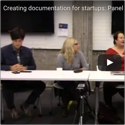 Recording of Creating Documentation for Startups: Panel Discussion — Write the Docs San Francisco